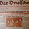Nazi-Propaganda im Jahre 1937: Der Jude und die Zukunft