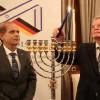 Bundespräsident Gauck und Botschafter Hadas-Handelsman eröffnen das Jubiläumsjahr 2015