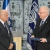 Präsident Rivlin erhielt vom Zentralen Wahlausschuss die offiziellen Wahlergebnisse