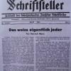 Offener Brief nach Deutschland im August 1934: Bodo Uhse schreibt aus dem Exil