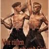 """Die """"Freie Deutsche Jugend"""" schreibt in der Juni-Juli-Ausgabe 1937: Die Jugend im Arbeitsdienst"""