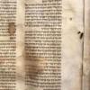 Sefer Torah aus dem Ghetto Lodz wurde nach Israel gebracht