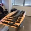 Polizei verhaftet Bande von Dieben die gezielt Waffen stahlen