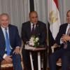 Ägyptens Präsident drängt bei Gesprächen mit Netanyahu zu Friedensgesprächen