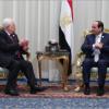 Al-Sisi und Abbas trafen sich um den Waffenstillstand der Hamas zu besprechen