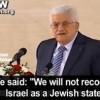 Abbas wahre Ideologie: Das jüdische Volk hat kein Recht in Israel zu existieren