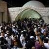 Araber randalierten als über 1.000 Gläubige Kever Yosef besuchten