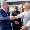 Netanyahu zu Beginn seines Besuch in Indien mit Beifall und Umarmungen begrüßt