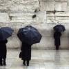 Sturm mit 90 KMH Windstärke und viel Regen in ganz Israel