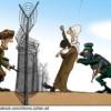 Hamas benutzt menschliche Schutzschilde um nach Israel einzudringen