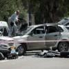 Vier Menschen bei Auto-Rammangriff verletzt