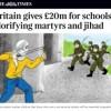 GB finanziert Lehrbücher die Kindern beibringen sich selbst in die Luft zu jagen