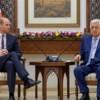 Prinz William besucht Abbas in Ramallah