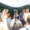 Am Freitag waren wir zu einer wunderbaren Hochzeit eingeladen