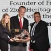 """Dr. Mike Evans von """"The Friends of Zion Museum"""" mit der Auszeichnung """"Lion of Jerusalem"""" geehrt"""