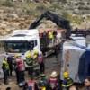 Zwei Tote und viele Verletzte bei Busunfall auf der Autobahn nach Jerusalem