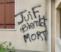 Antisemitische Graffiti am Haus der Mutter von Merah-Opfer entdeckt