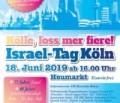 Israel-Tag Köln am 18.6.2019 von 16:00 – 20:00 Uhr
