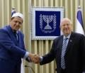 Präsident Rivlin trifft belgische und französische Imame