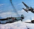 Zeitgeschichte aus der militärischen Luftfahrt: Die Schlacht um England; Spitfire versus Messerschmitt Bf 109