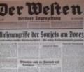 """Die Deutschen im Zweiten Weltkrieg: Was """"Der Westen"""" am Sonntag, 7. Dezember 1941 für Lügen verbreitete"""