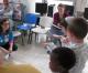 UN-Fotoausstellung zeigt Israels schulische Bildung von Kindern im Krankenhaus