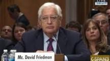 """Friedman: """"Die Palästinensische Erzählung von der Opferrolle hat ein Ende"""""""