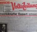 Was die Deutsche Volkszeitung am 21. Februar 1937 noch aus Prag, Paris und Basel berichten konnte
