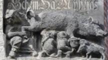 Kein Demonstrant zerstört die Judensau – das deutsche Relief das die Juden als Schweine zeigt